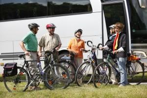 Busgruppe Fahrrad Binnenland